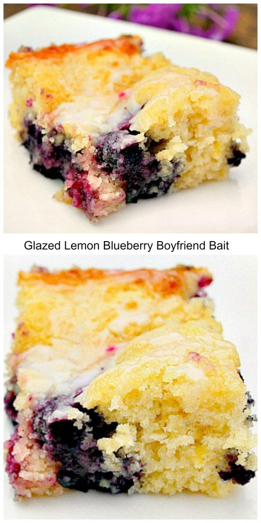 Glazed Lemon Blueberry Boyfriend Bait