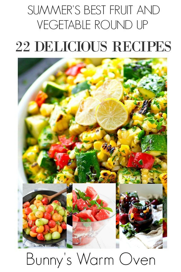 22 ways to enjoy summers fruit and vegetables