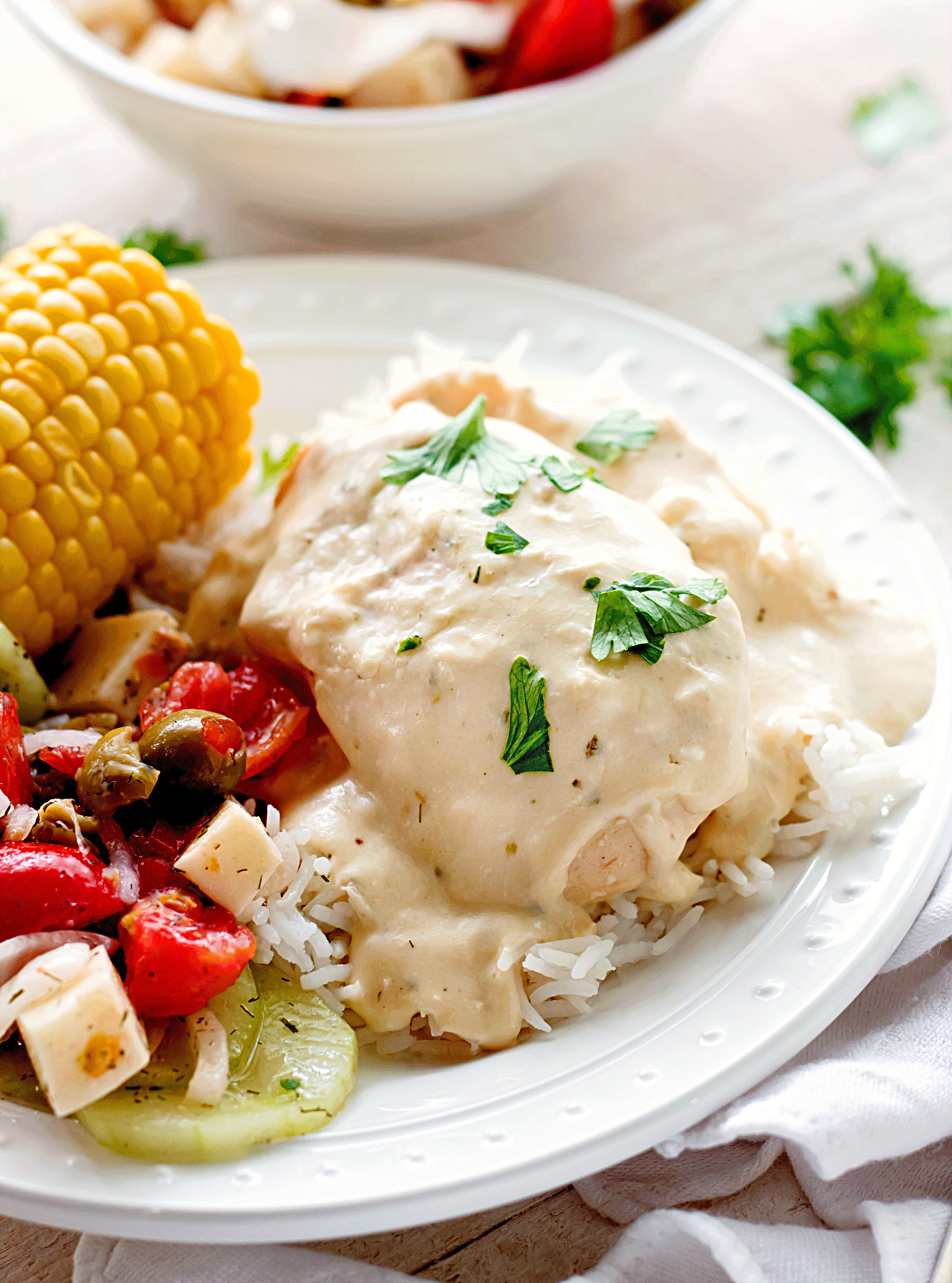 Crock Pot Ranch Cream Cheese Chicken