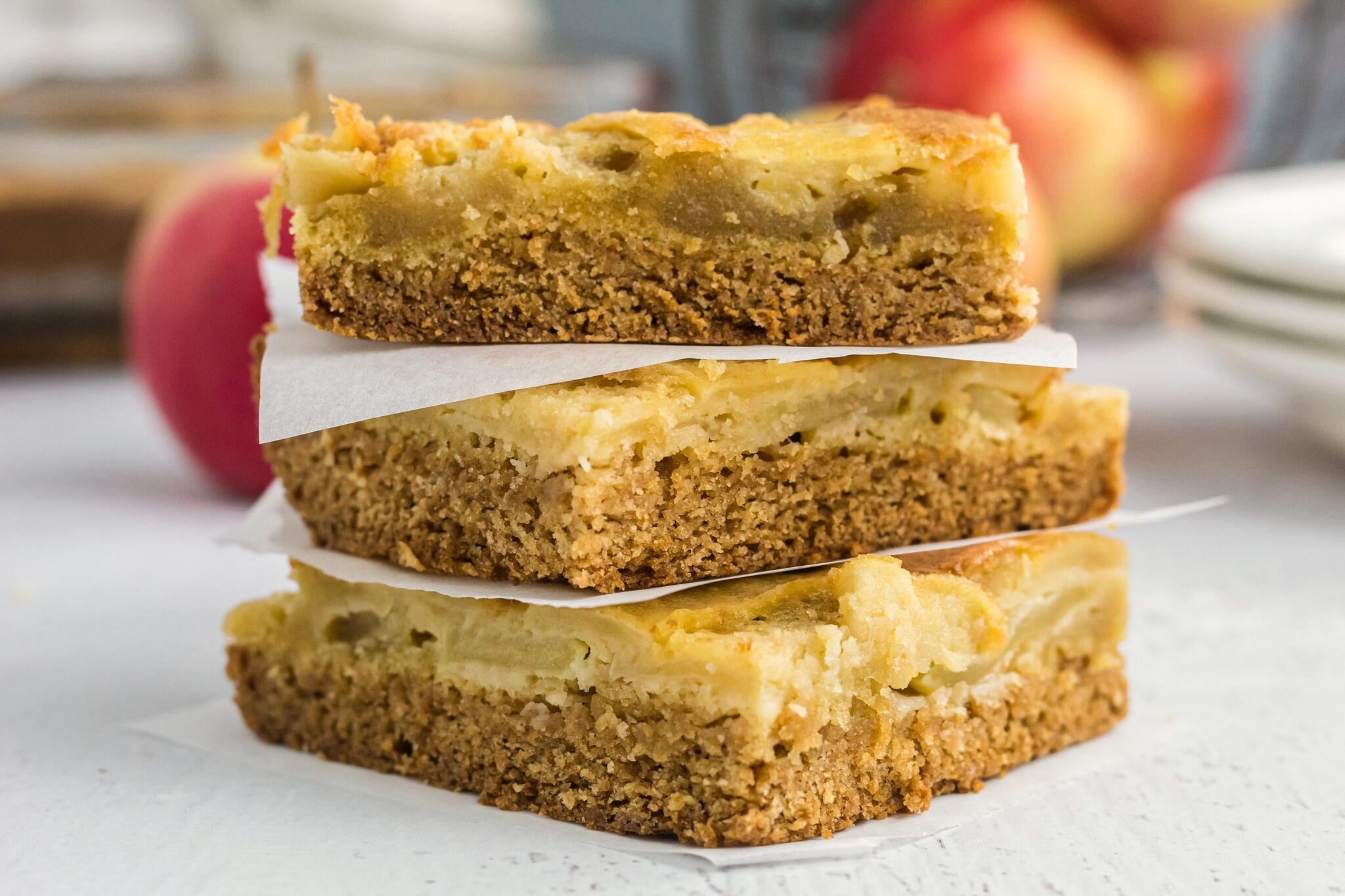 Browned Butter Apple Bars