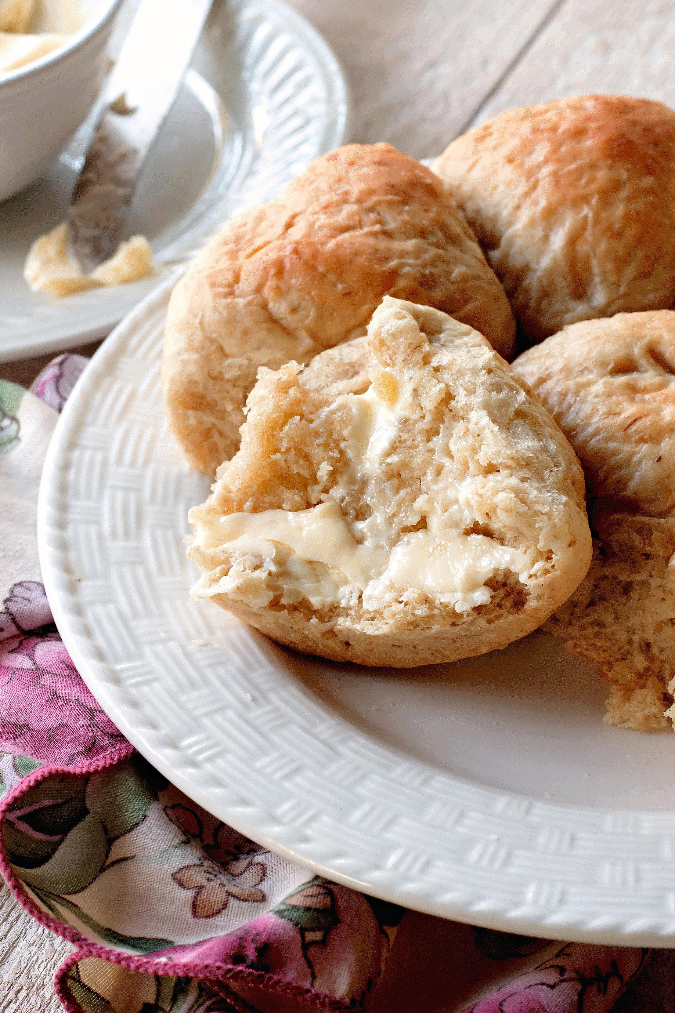 rolled oats bread