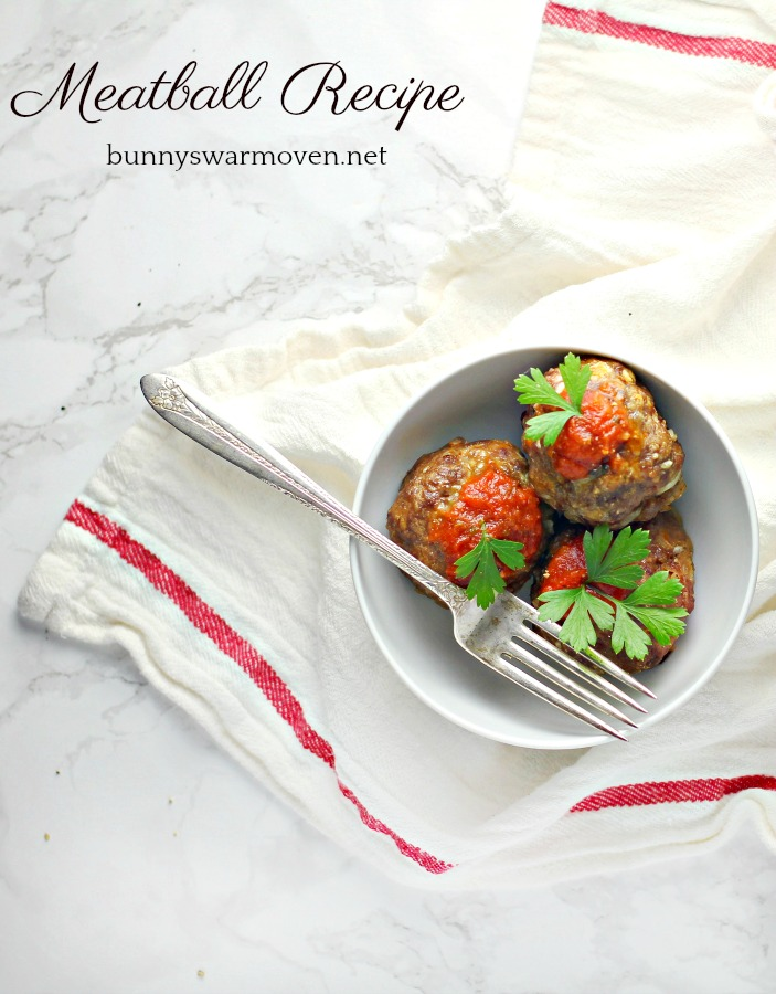 Meatball recipe