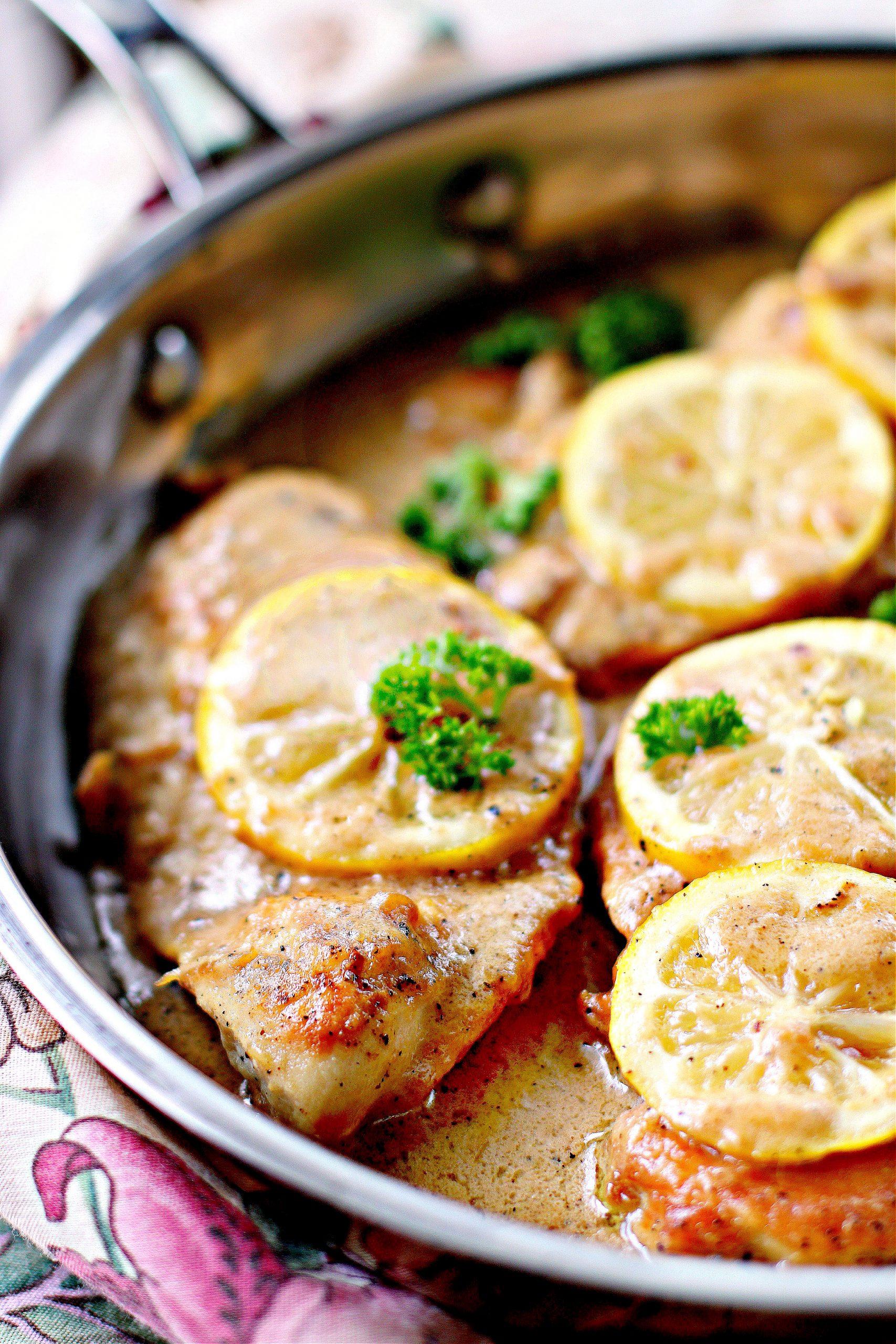 Creamy Lemon Chicken Breasts