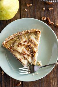 Pecan Pear Tart