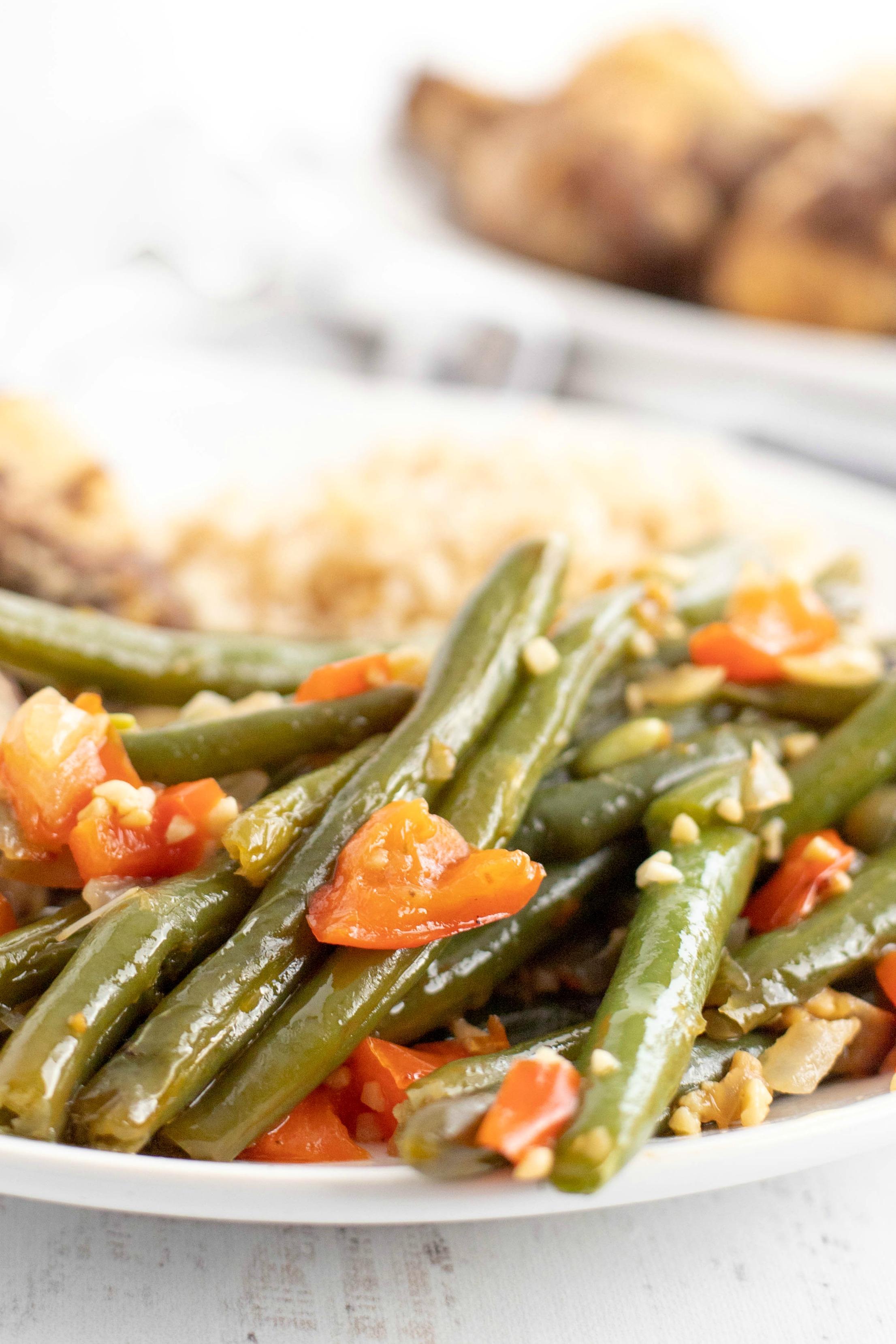Fresh Green Bean Side Dish Recipe