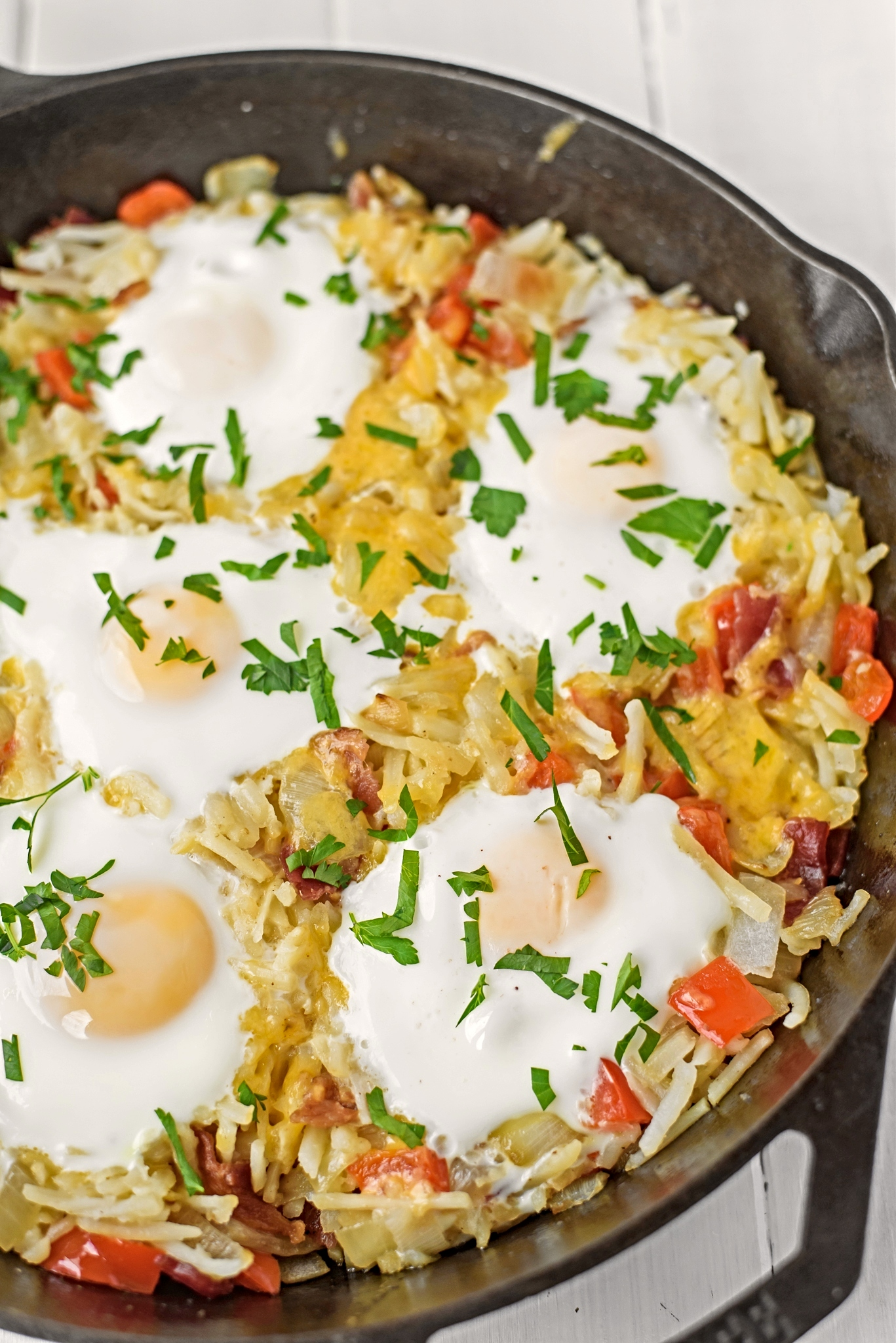 Skillet Hash Brown Breakfast Skillet