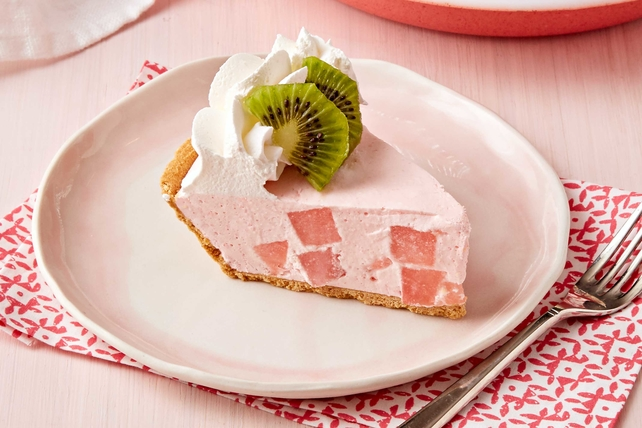 Frozen Watermelon Pie