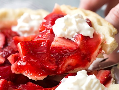 Copycat Frisch's Big Boy Fresh Strawberry Pie