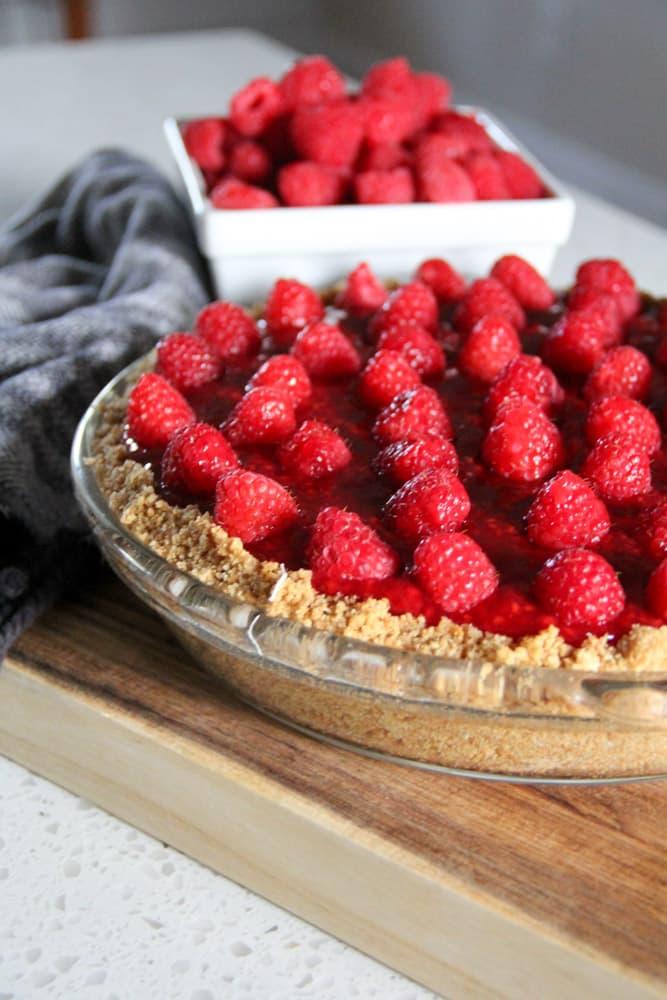 Grandma's Famous Raspberry Pie