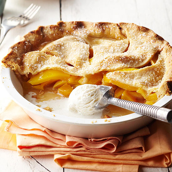 Peach-Mango Pie