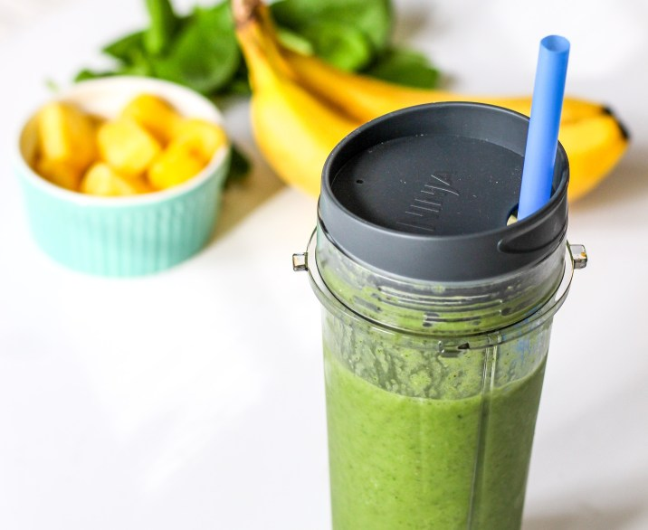 Detox Green Smoothie with Chia Seeds – Ally's Cooking
