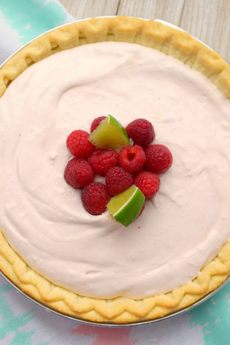 Raspberry Daquiri Pie