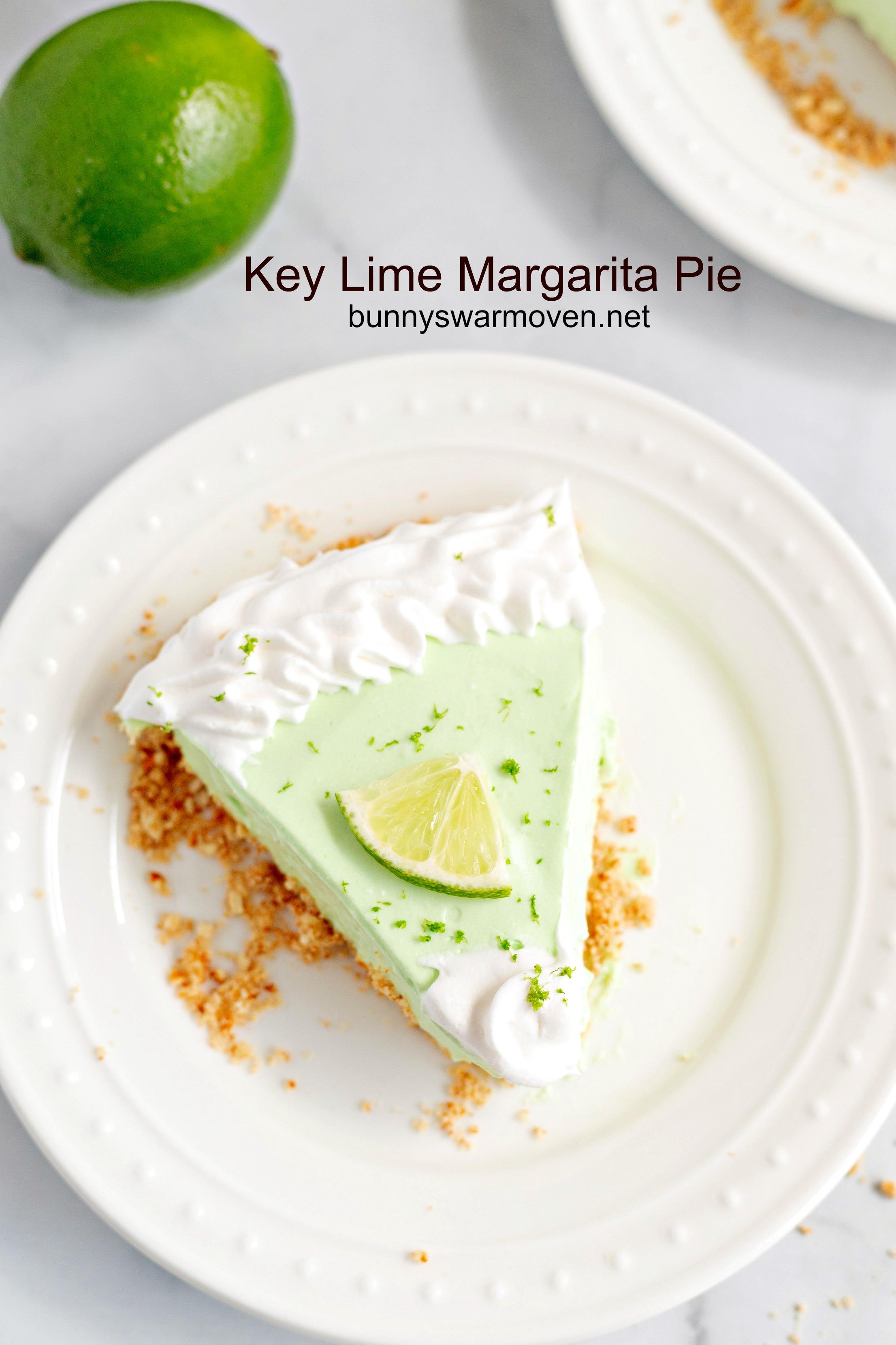 Key Lime Margarita Pie