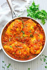 Skillet Tomato Chicken Breast