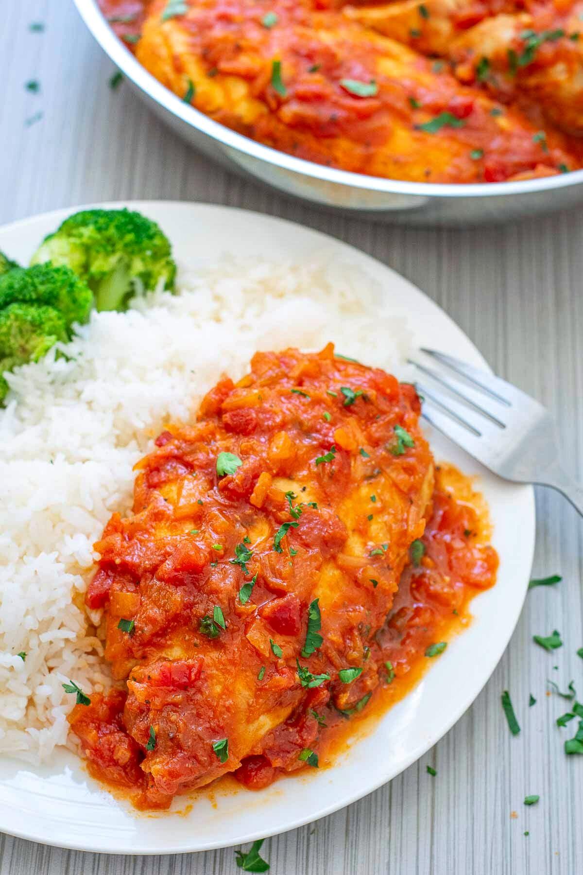 Skillet Tomato Dinner