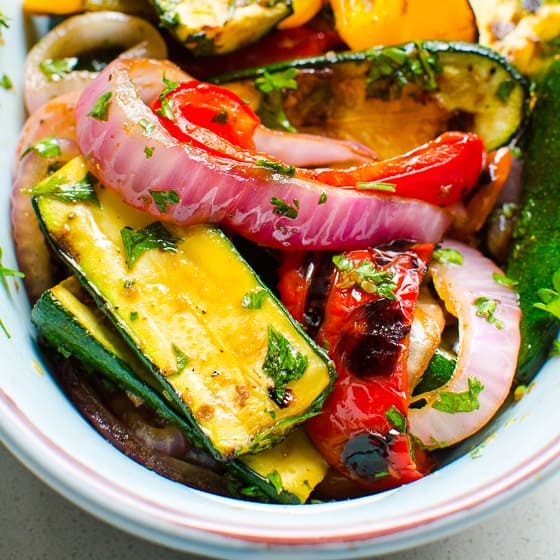 Grilled Vegetable (No Marinating)