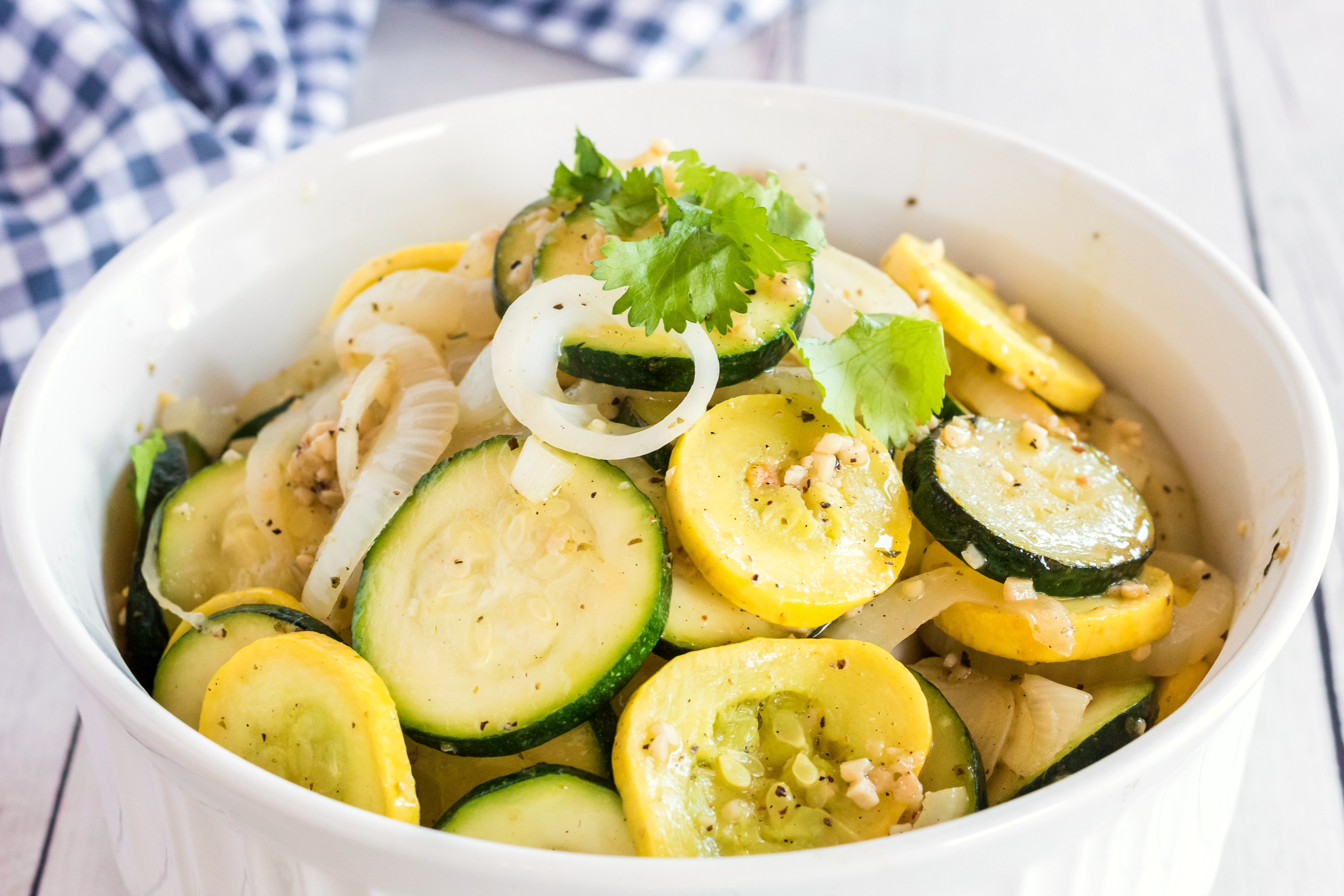 Zucchini with Onions and Garlic