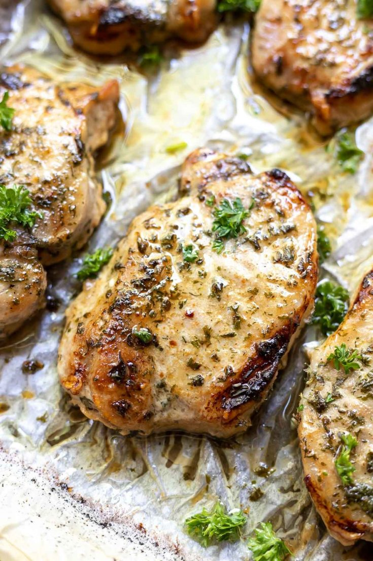 Ranch Pork Chops (Oven Baked)
