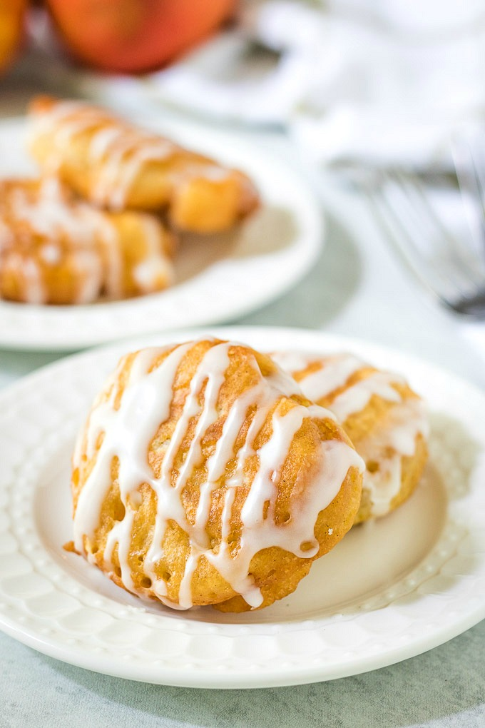 Delicious Fresh Peach Fritters