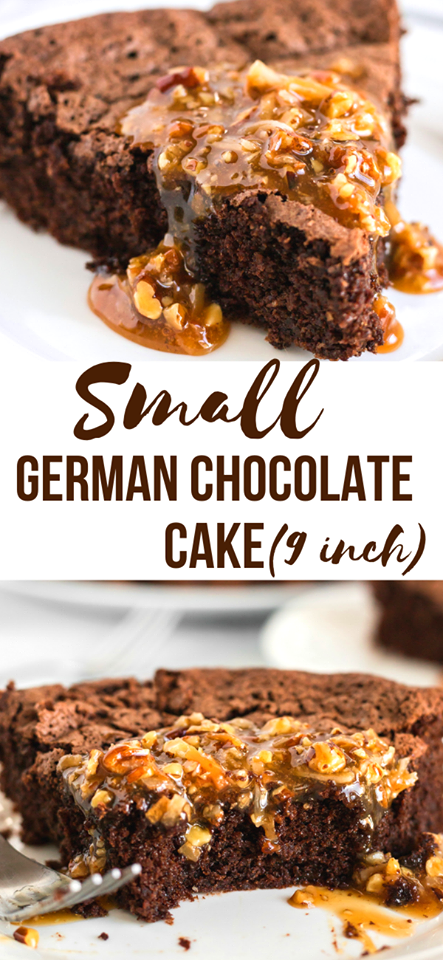 Small German Chocolate Cake