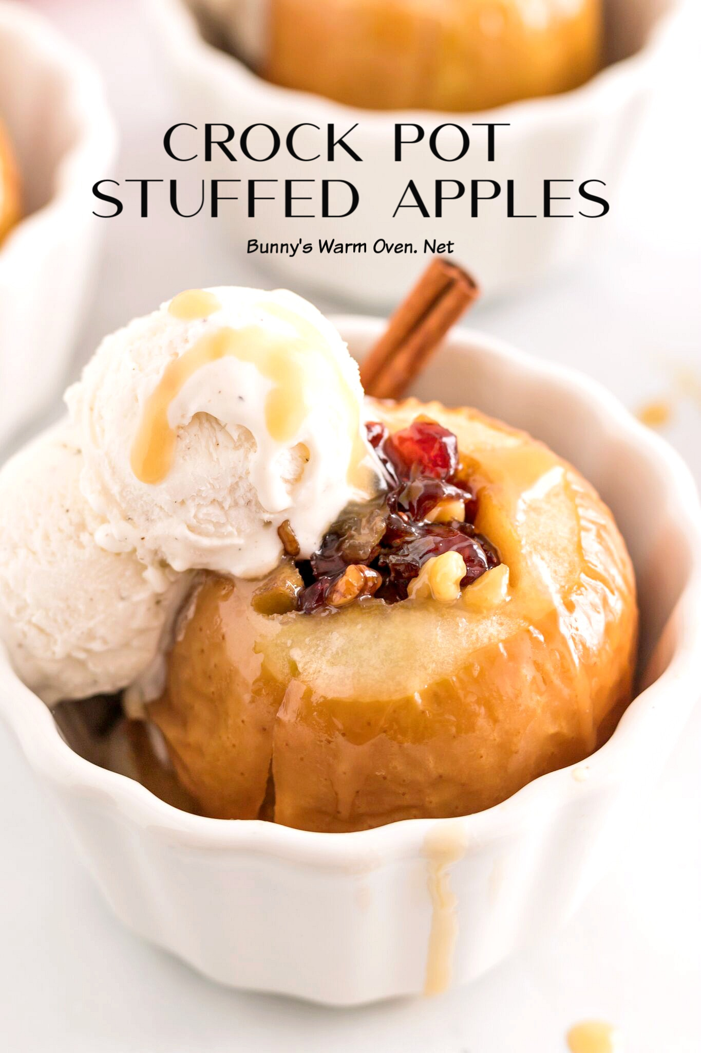 Crock Pot Stuffed Apples
