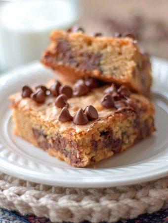 Peanut Butter Chocolate Chip nBrownies