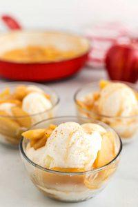 Apple Sundae Dessert