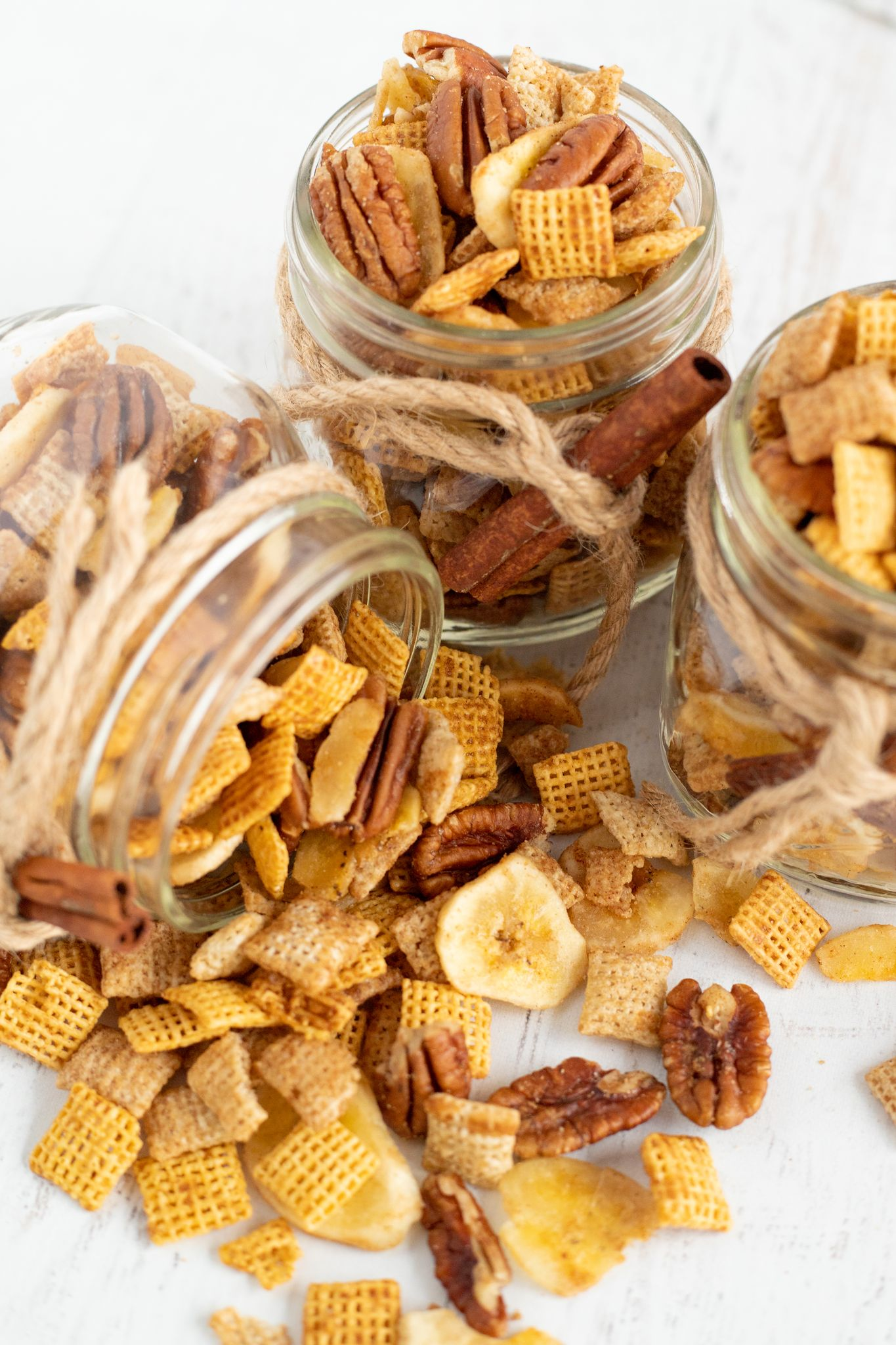 Banana Foster Chex Mix
