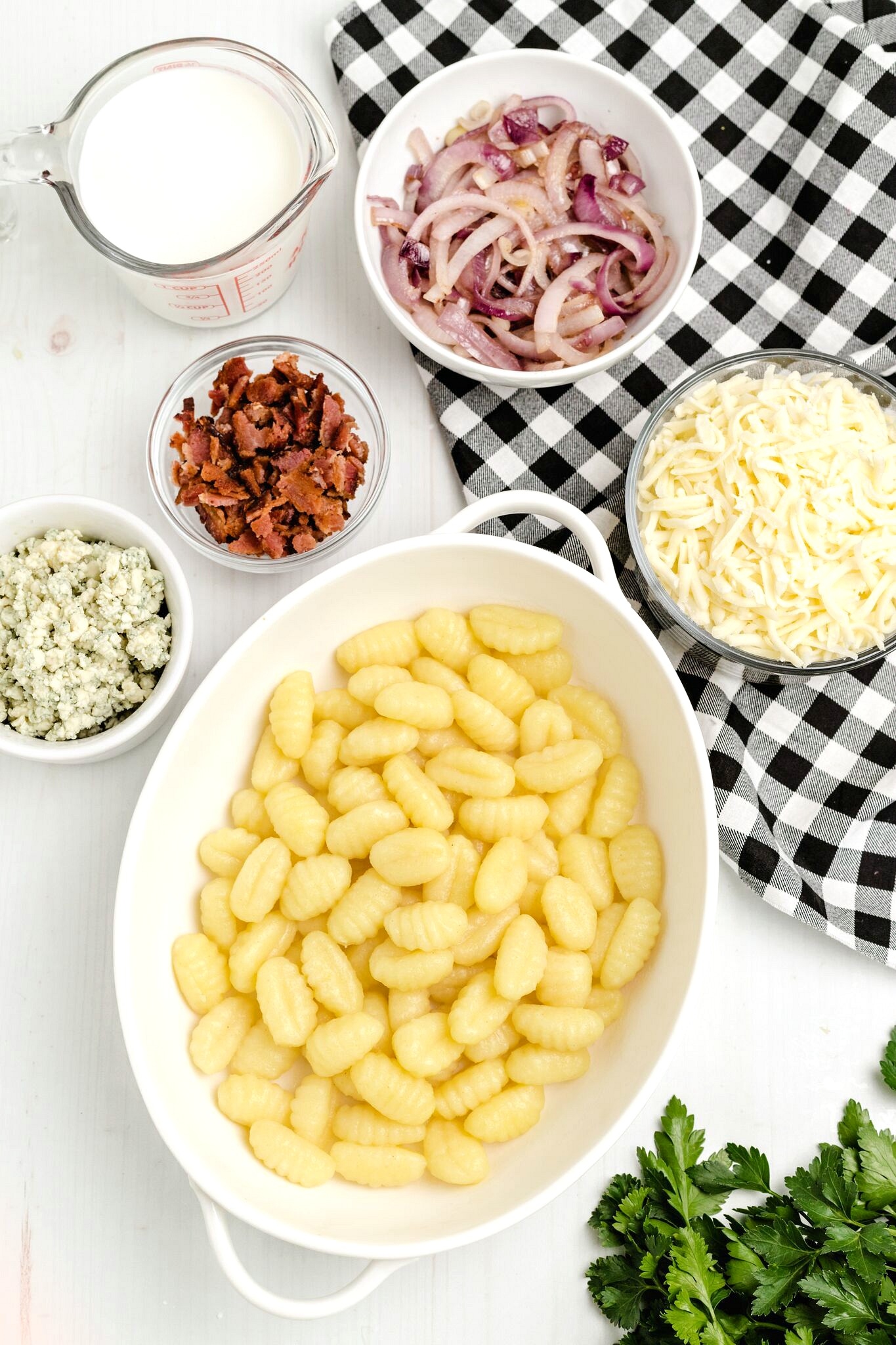 Gnocchi Macaroni and Cheese