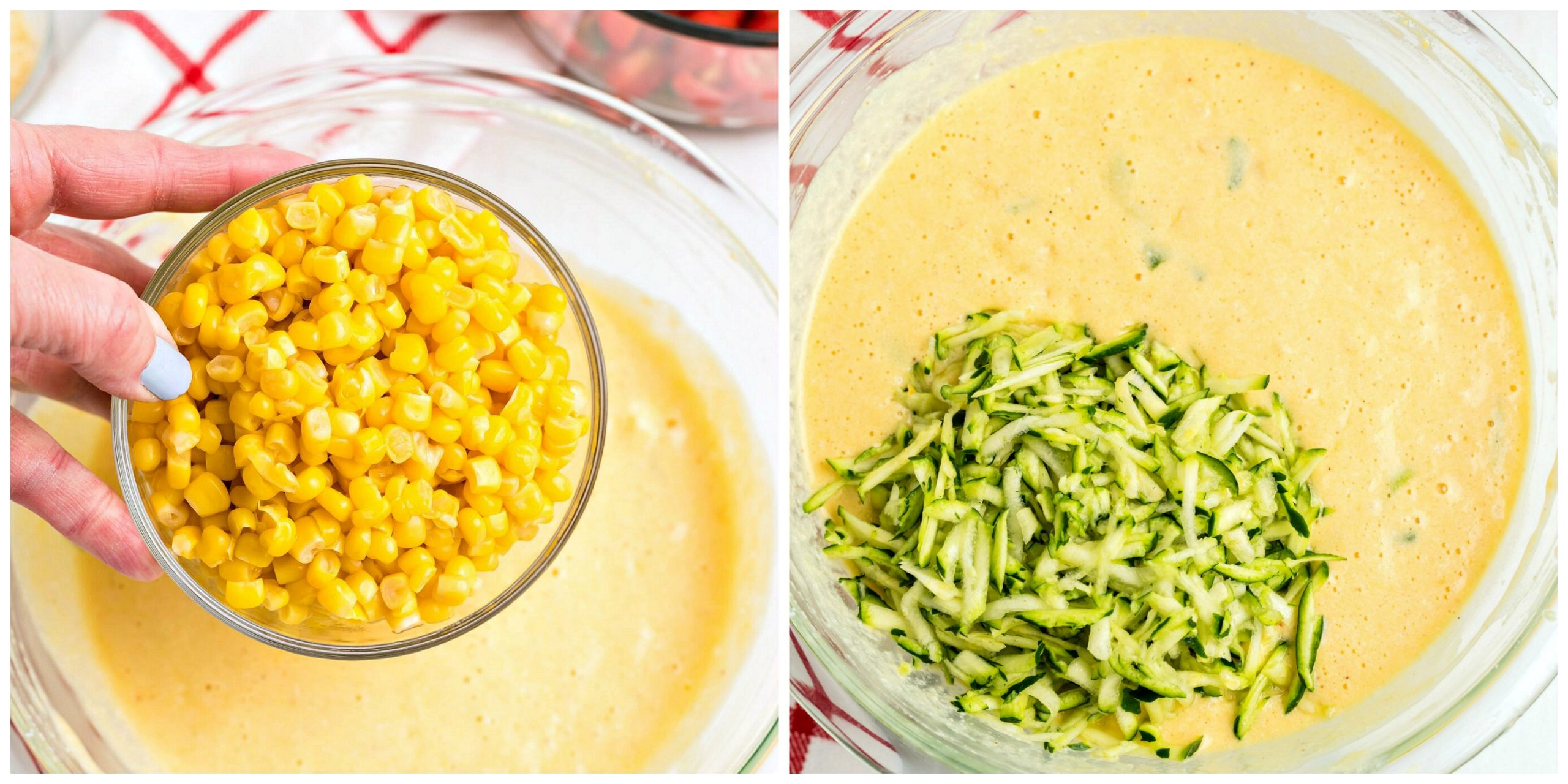Zucchini and Corn Souffle