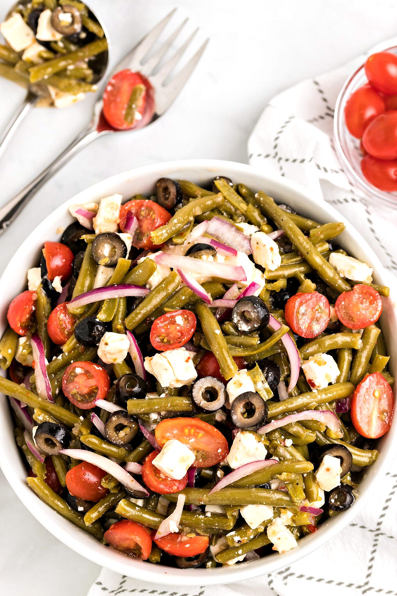 Canned Green Bean Salad