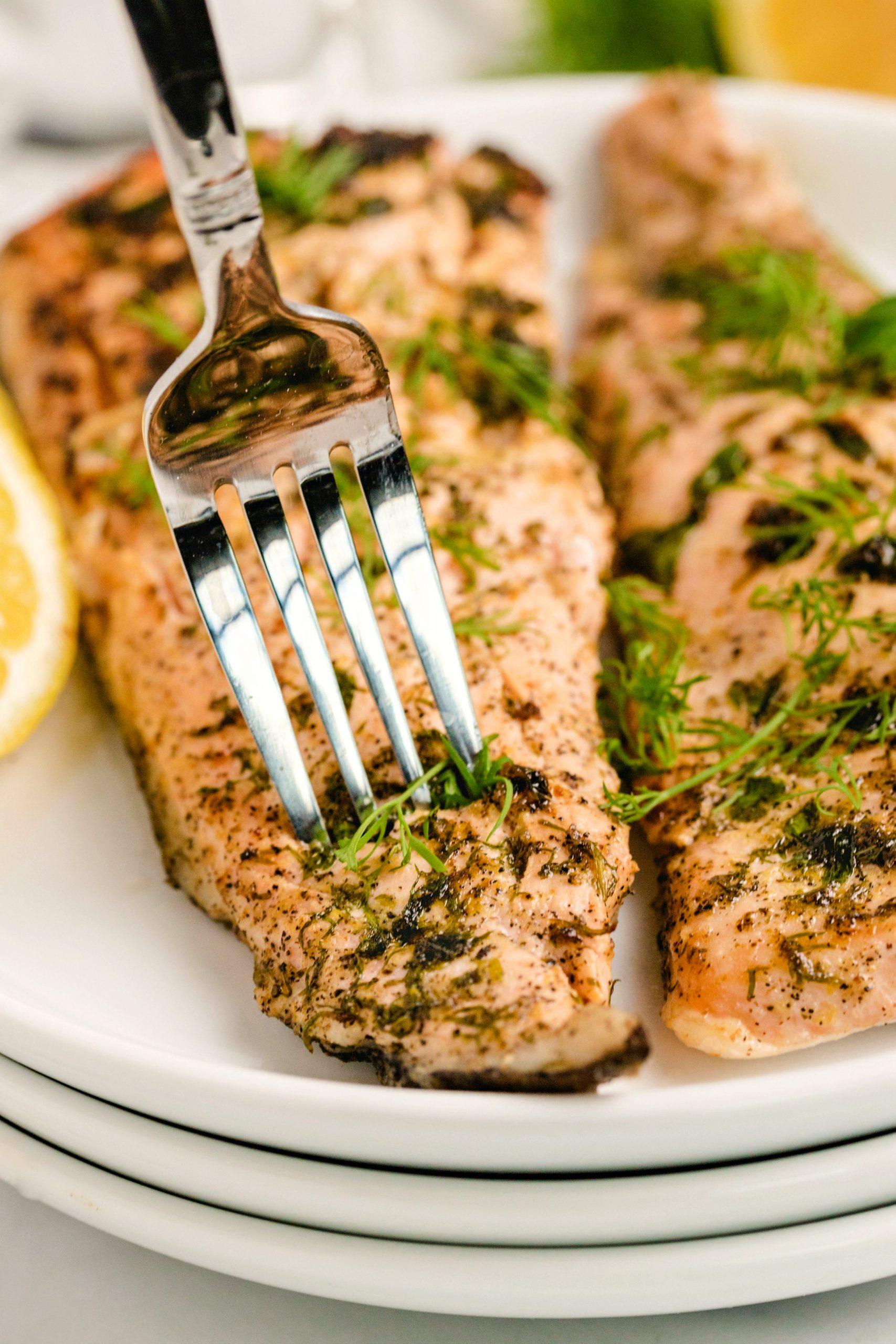 Lemon Herbed Salmon