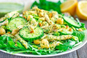 Chicken Cucumber Salad