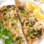 Herbed Lemon Salmon