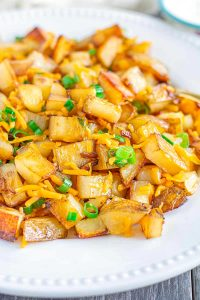 Chedder Cheese Onion Potatoes