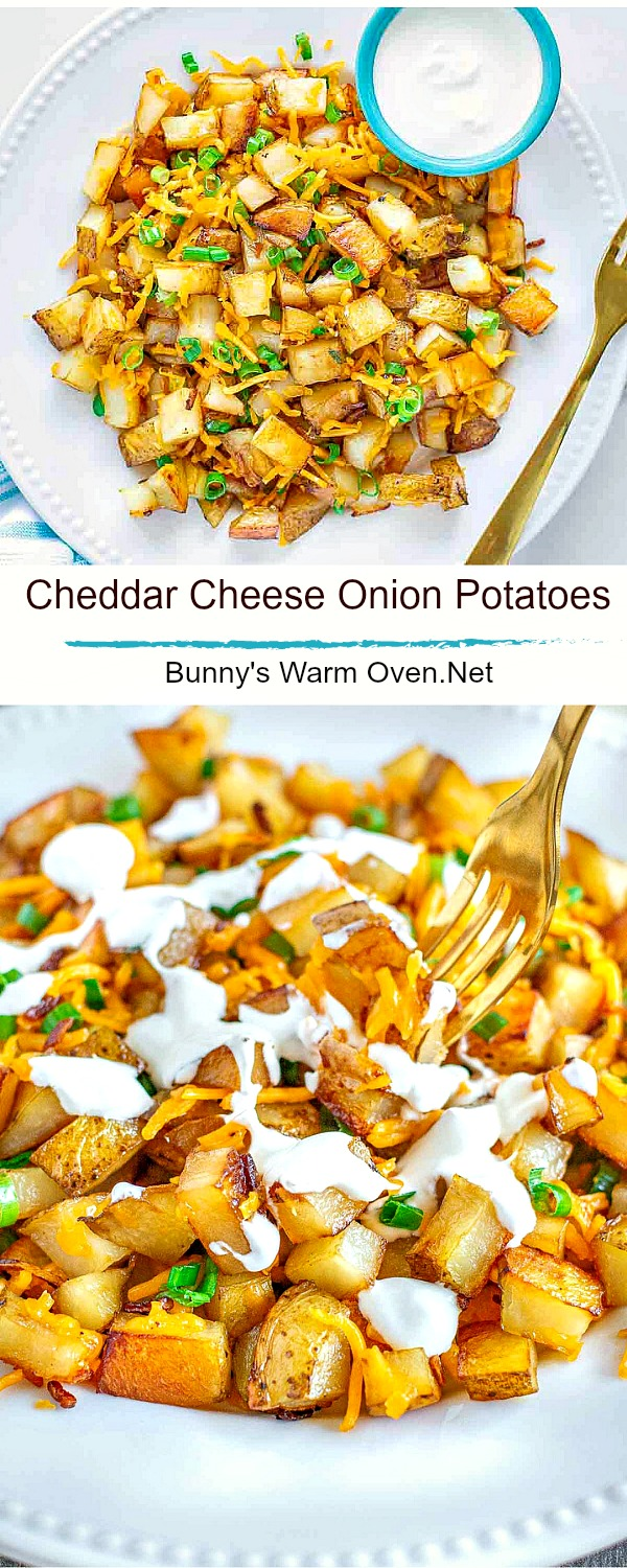 Cheddar Cheese Onion Potatoes