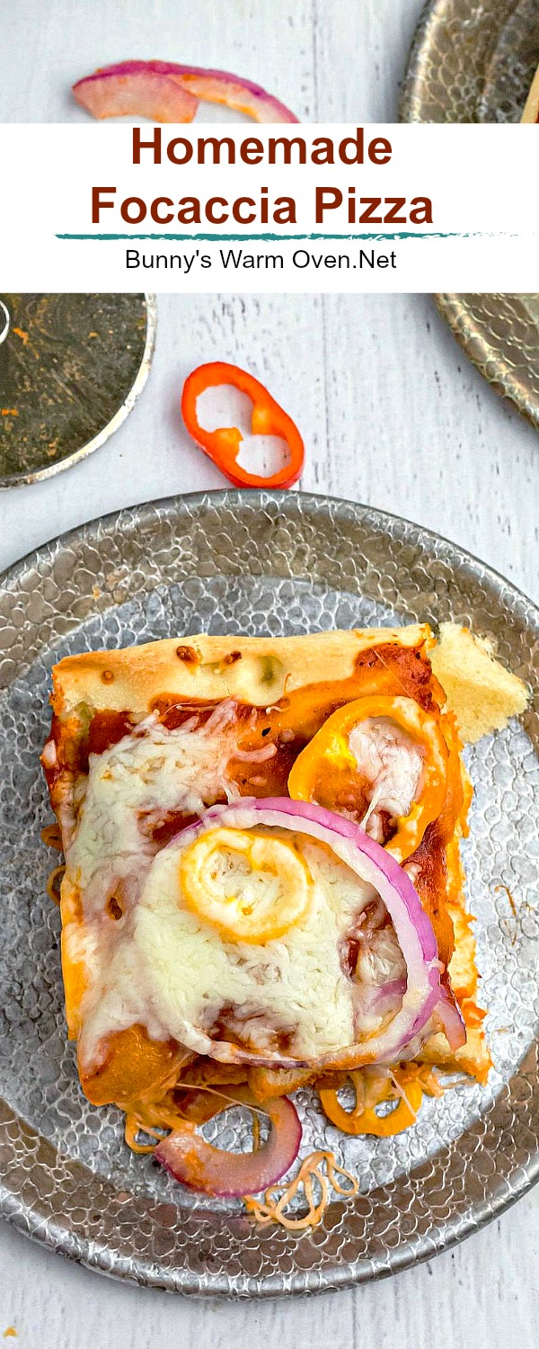 focaccia pizza toppings