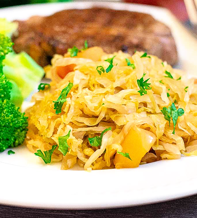 Apple Cabbage Side Dish